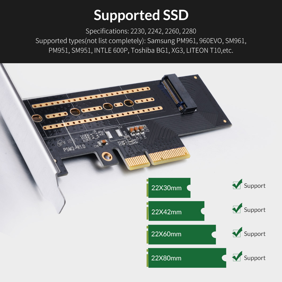 Supported SSD