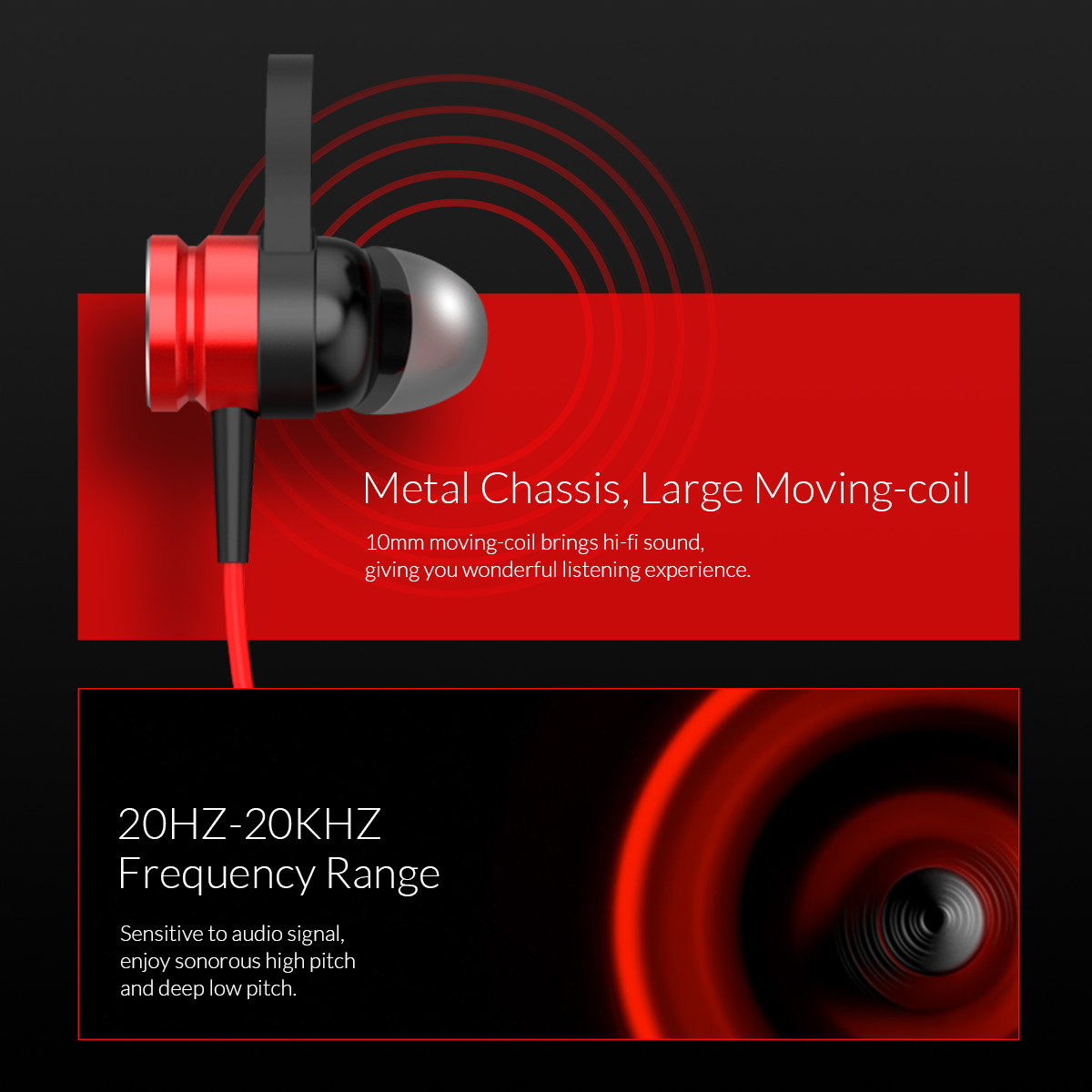metal chassis large moving-coil