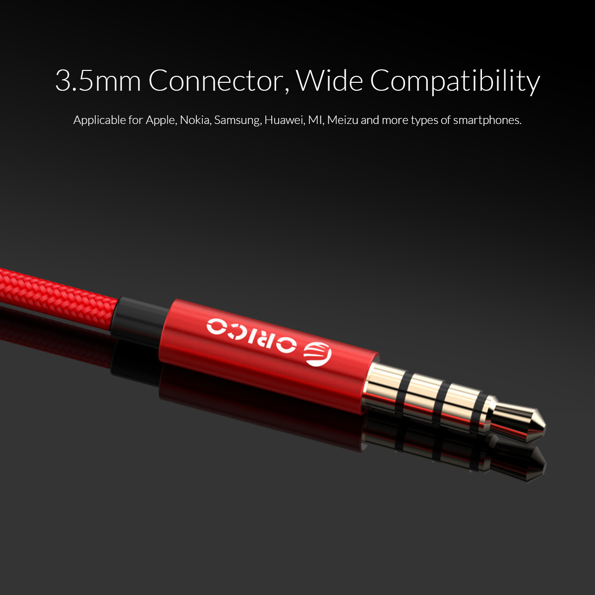 3.5 mm connector wide compatibility