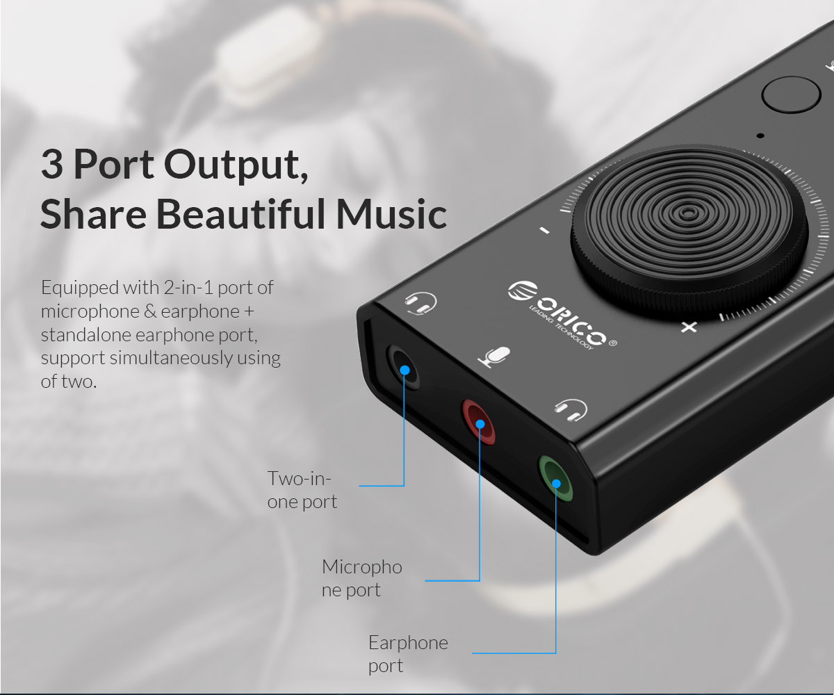 3 port output share beautiful music