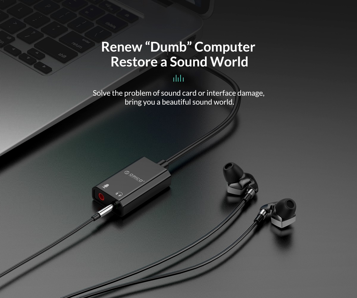 solve the problem of sound card or interface damage. bring you a beautiful sound world