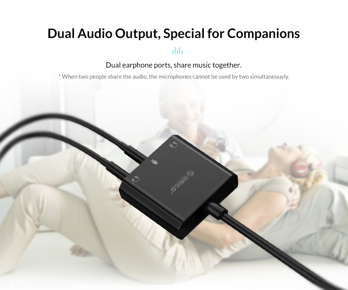 dual audio output special for companions