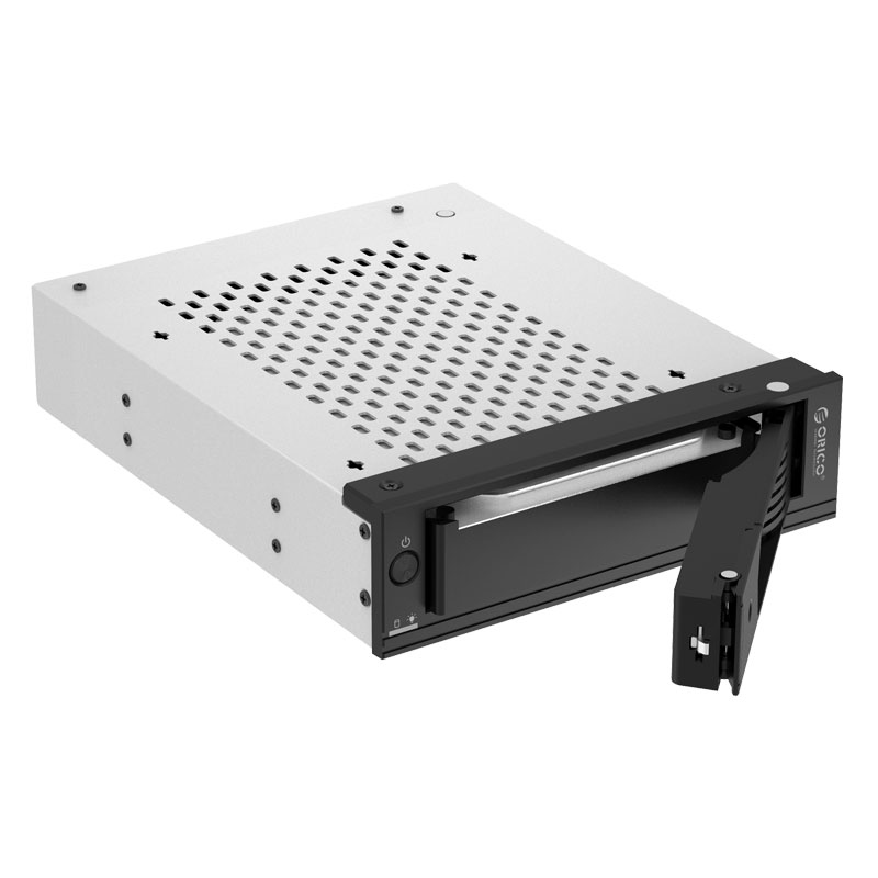 the hard drive caddy is Tool free installation & hot swapping
