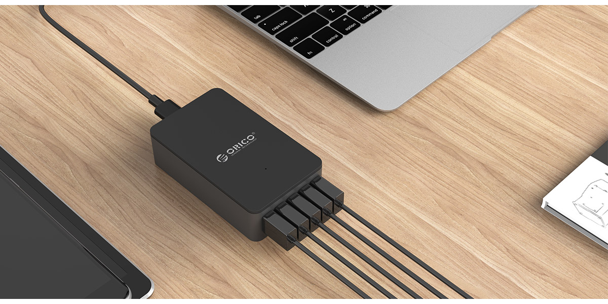 5 ports USB charger