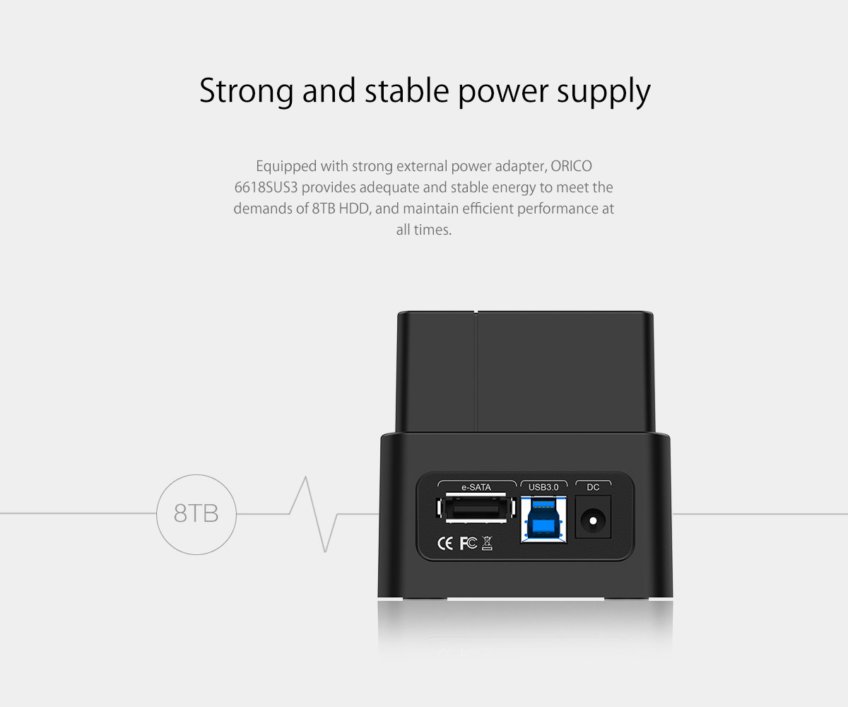 strong and stable power supply