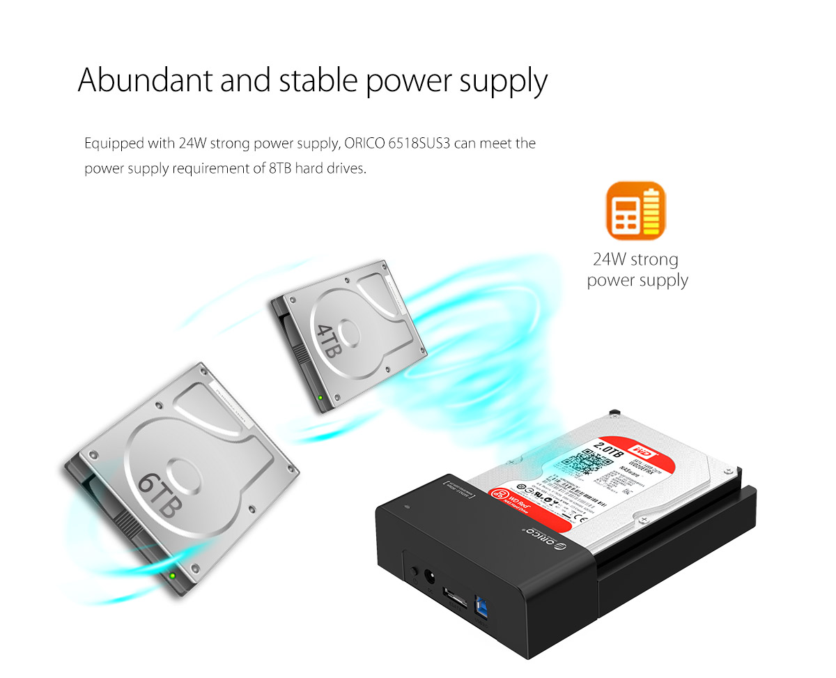 abundant and stable power supply