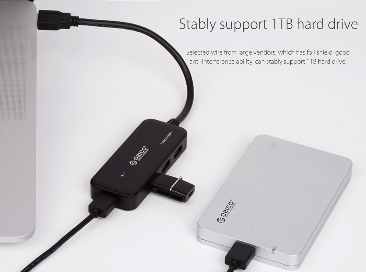 stably support 1TB hard drive