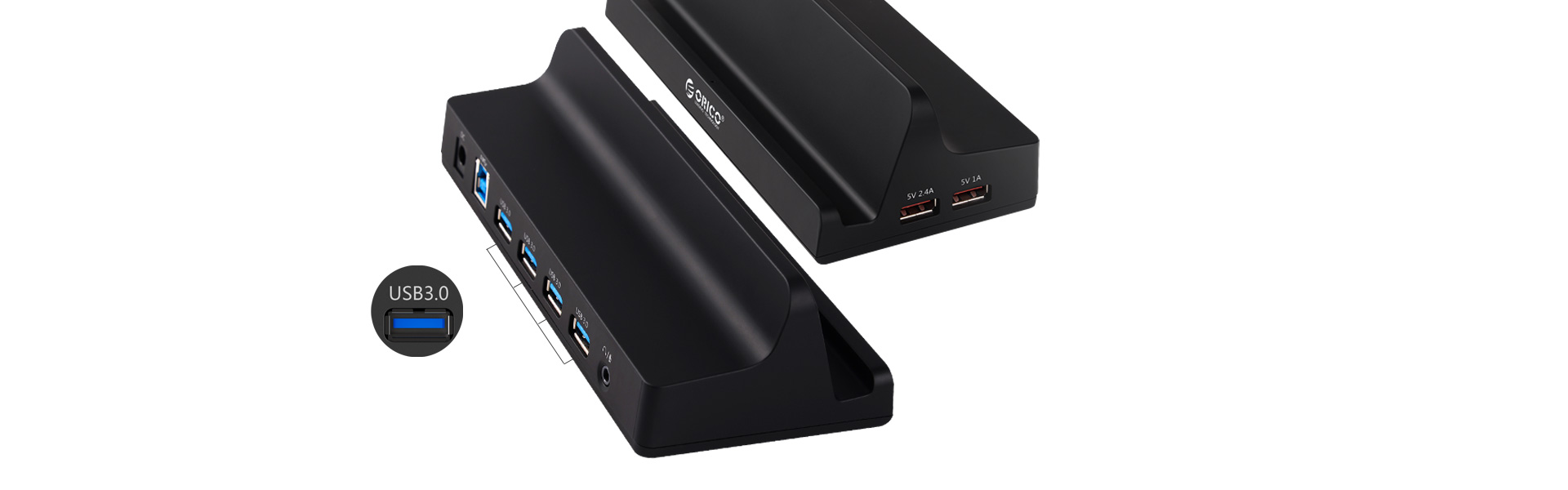 4 SuperSpeed USB3.0 ports