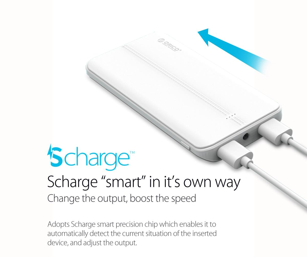 adopts Scharge smart precision chip
