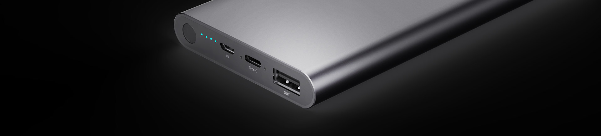 10000mAh Power Bank with Type-C