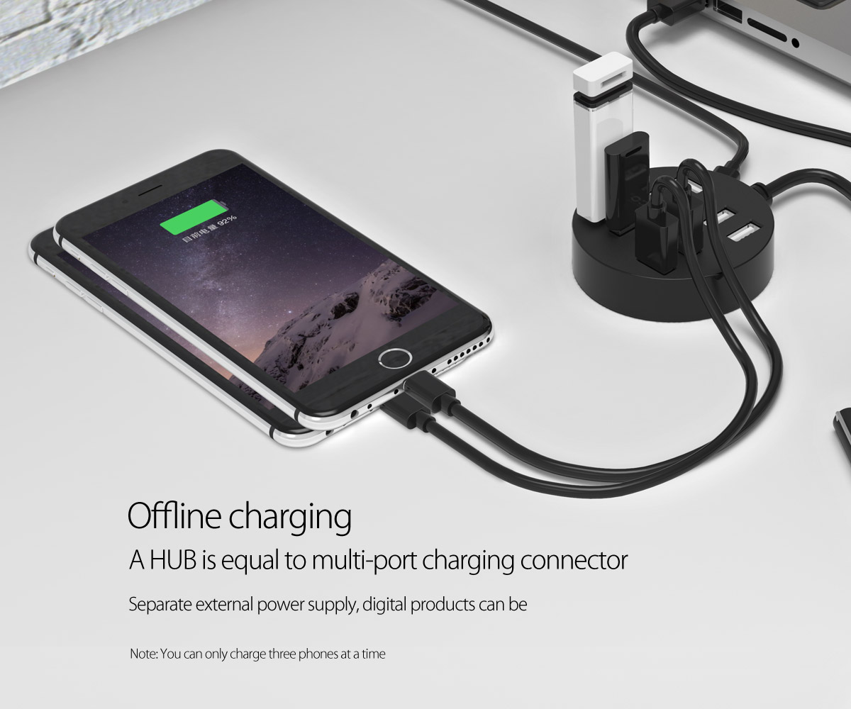 match with external power supply, it can charge phone and tablet