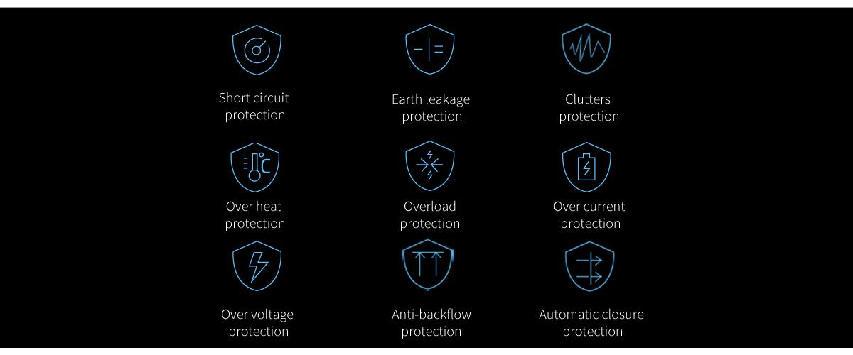 Multiple security processed and strict quality test, being safeguard of your device