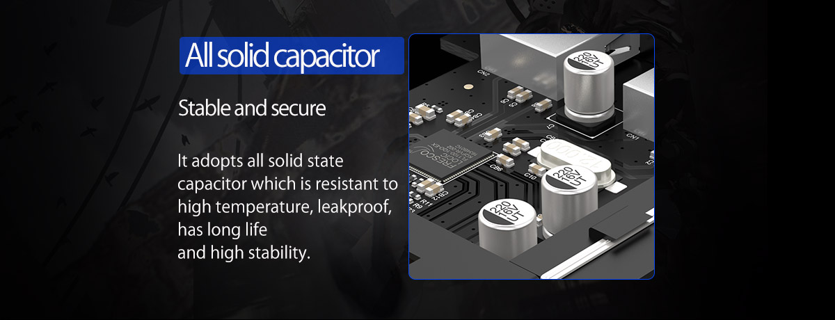 all solid capacitor