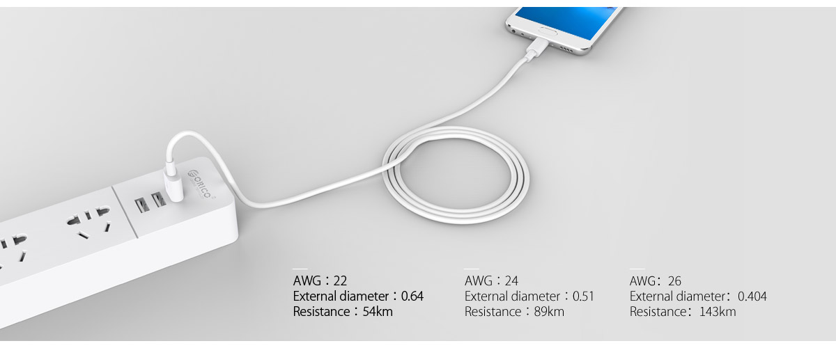 22AWG thicker copper wire