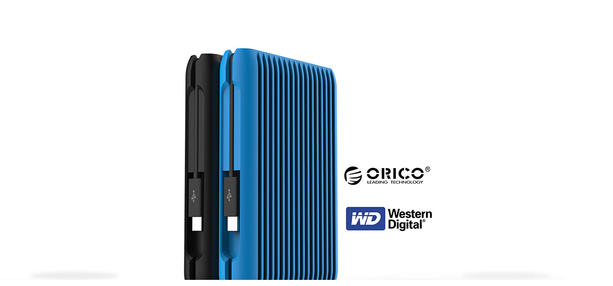 the type-C hard drive is a customized design of the world's leading hard disk manufacturers