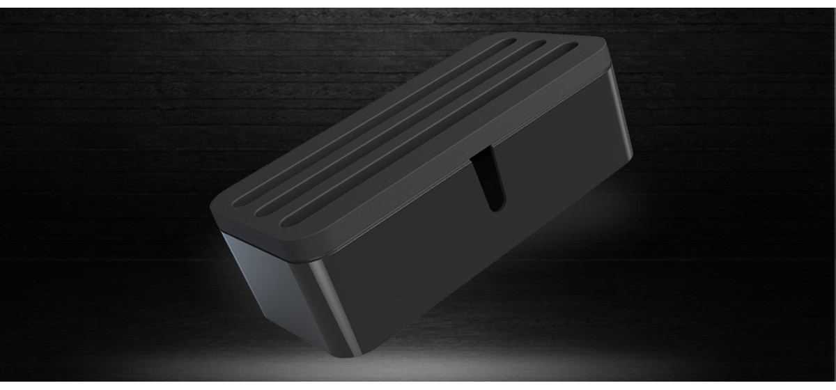 Equipped with a detached cover, hide chargers in this storage box, prevent children from touching, you don't need to worry about children are in danger any more.