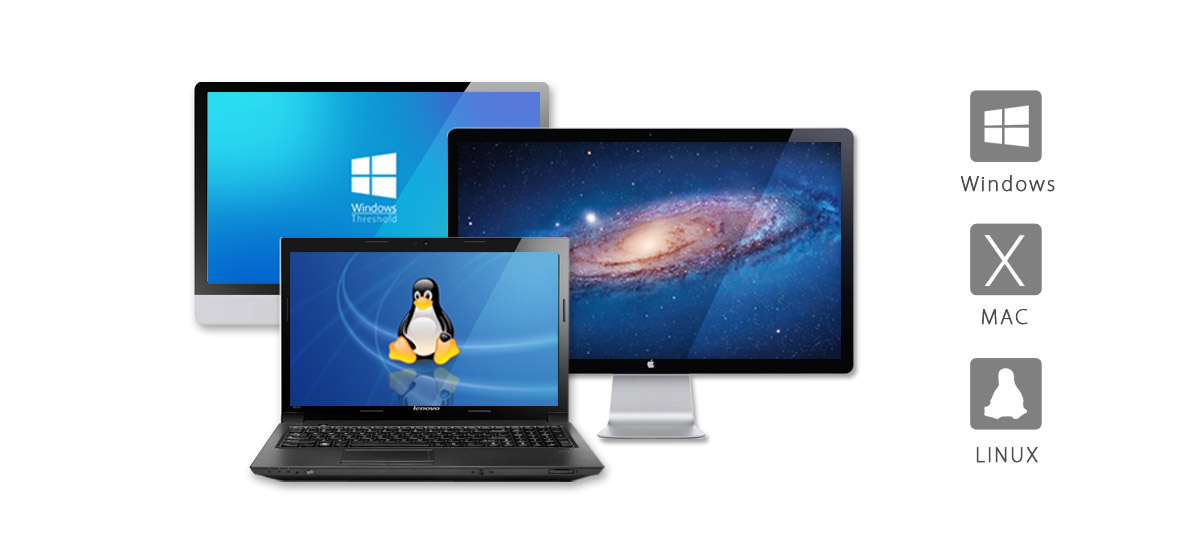 Compatible with Window/Linux/Mac and other major operation systems