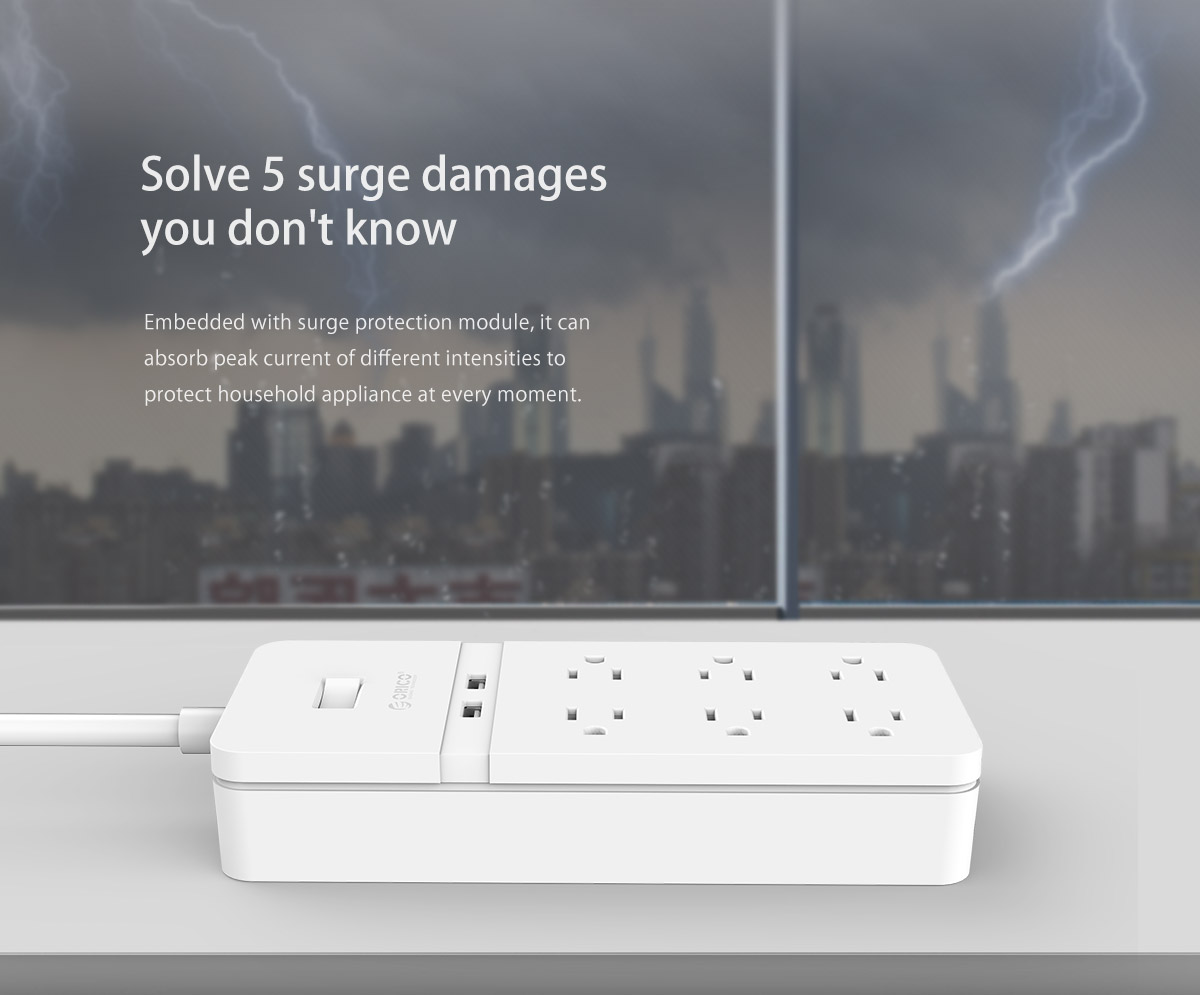 embedded with surge protection module
