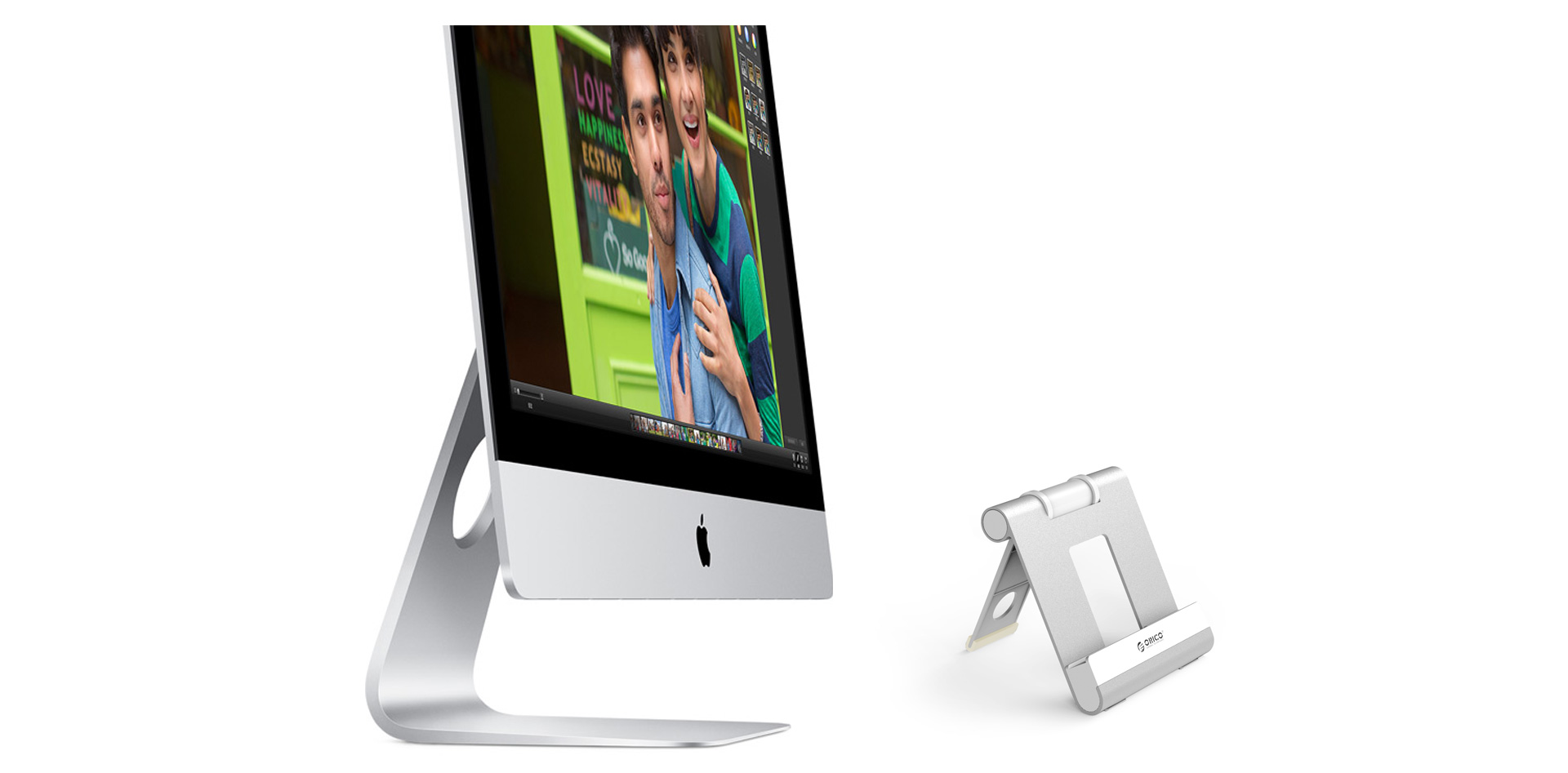 the foldable holder is made of aluminum
