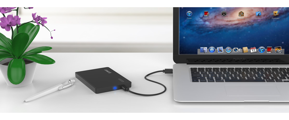 the 8TB large capacity hard drive enclosure is easily to handle massive files