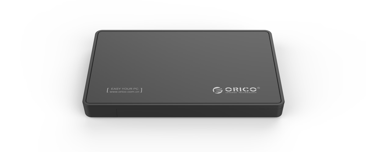 The Type-C hard drive enclosure is made of galvanizing metal panel, stoving varnish