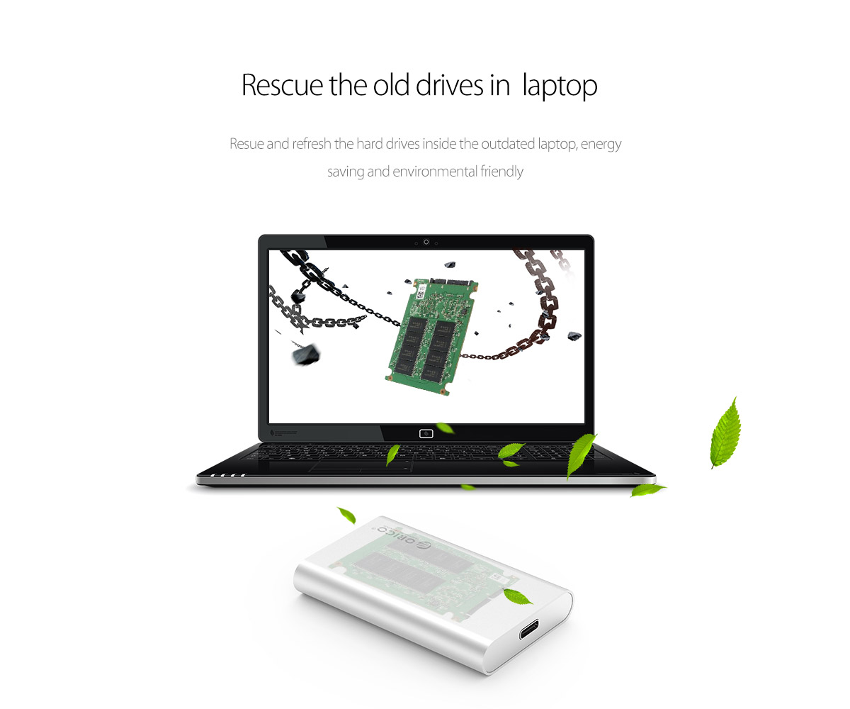 rescue ythe old drives in laptop