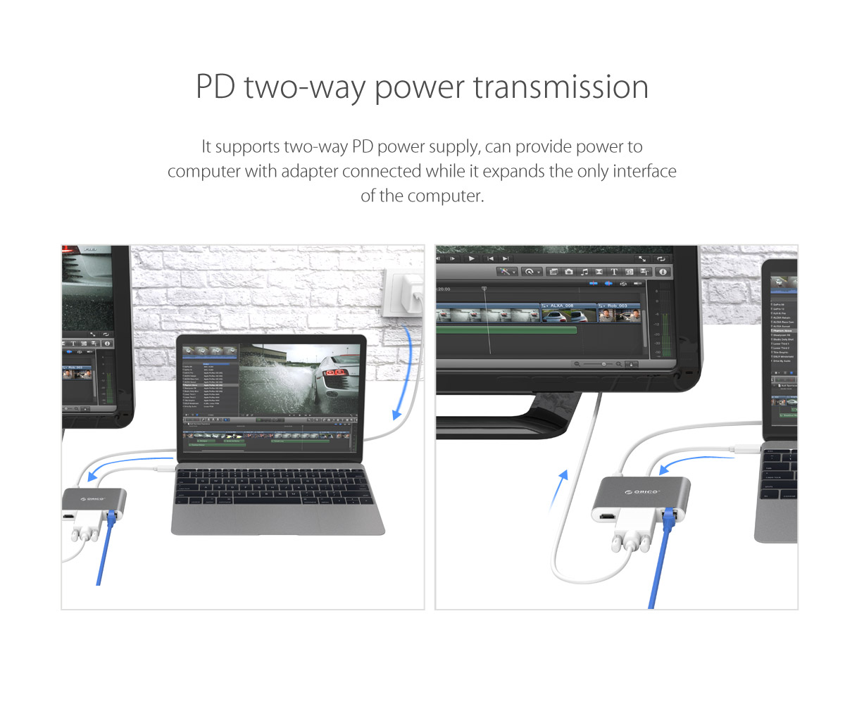 PD two-way power transmission