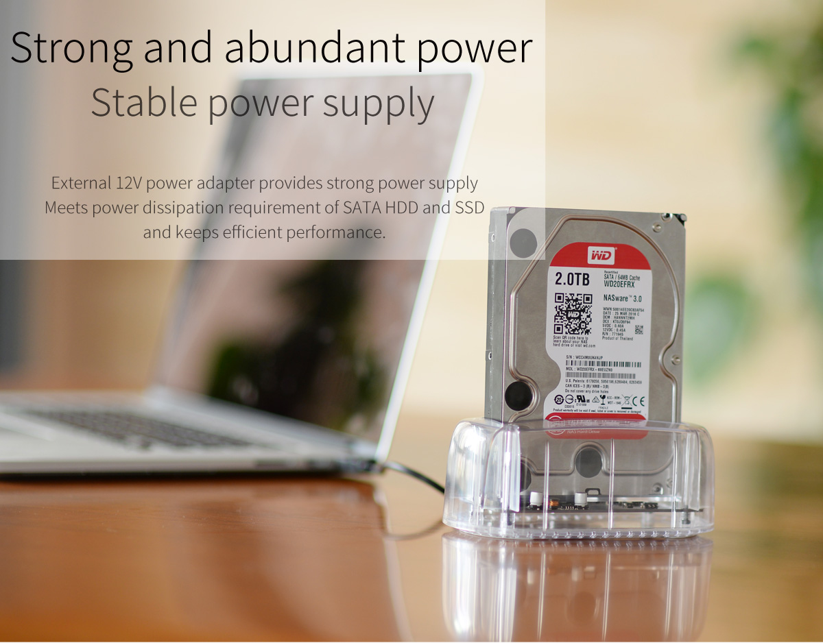 strong and abundant power supply