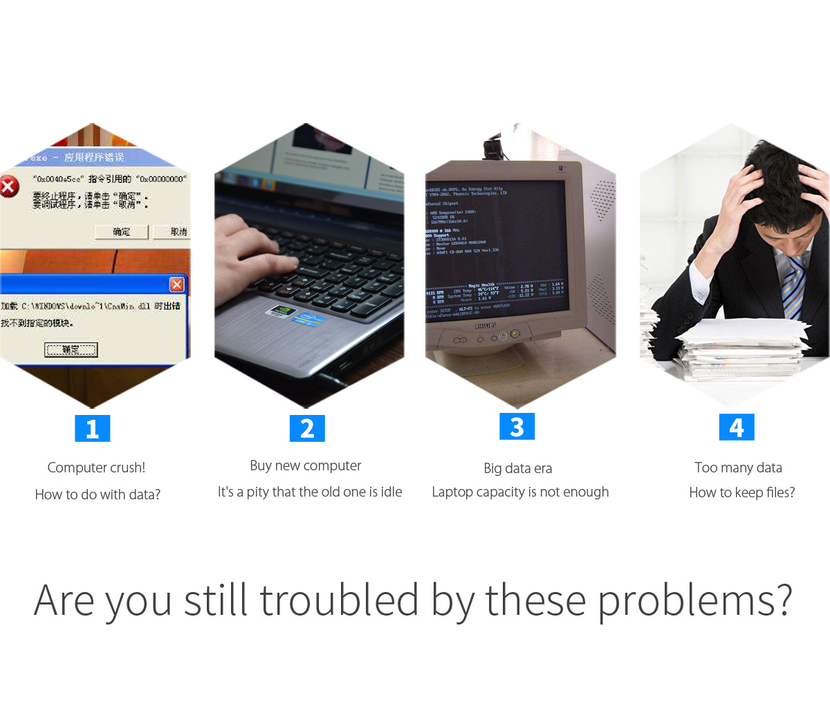 Are you still troubled by these problems