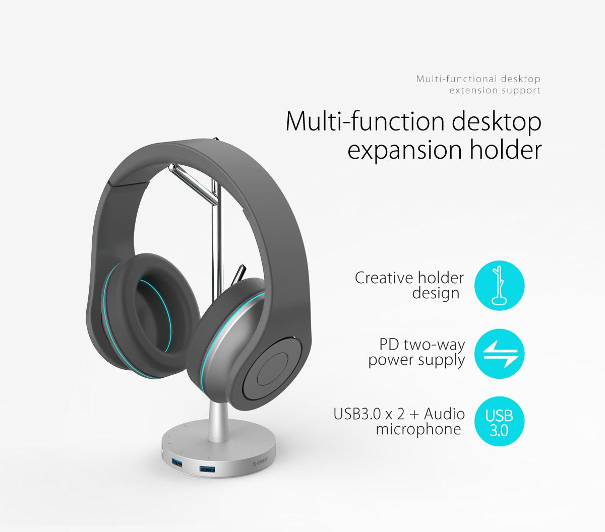 multi-function desktop expansion holder