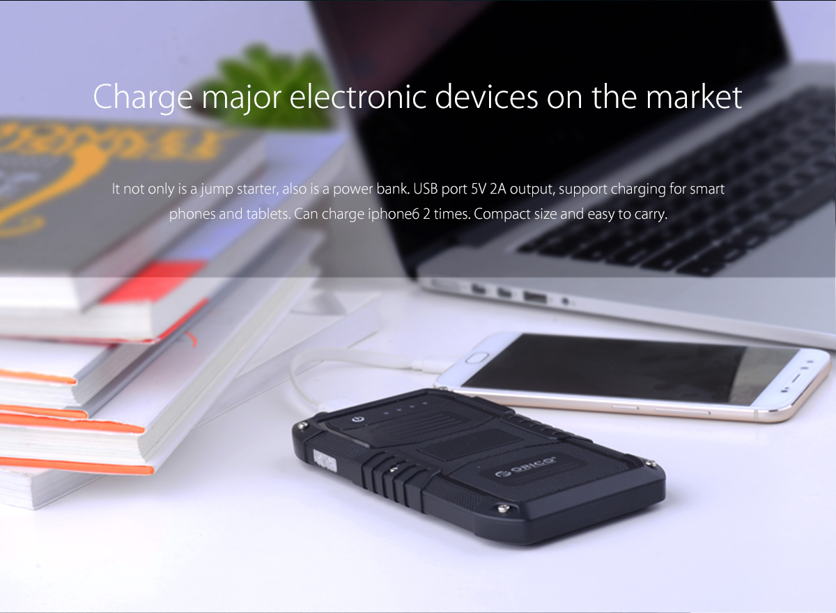 charge major electronic devices on the market