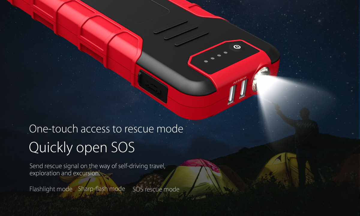 one-touch access to rescue mode