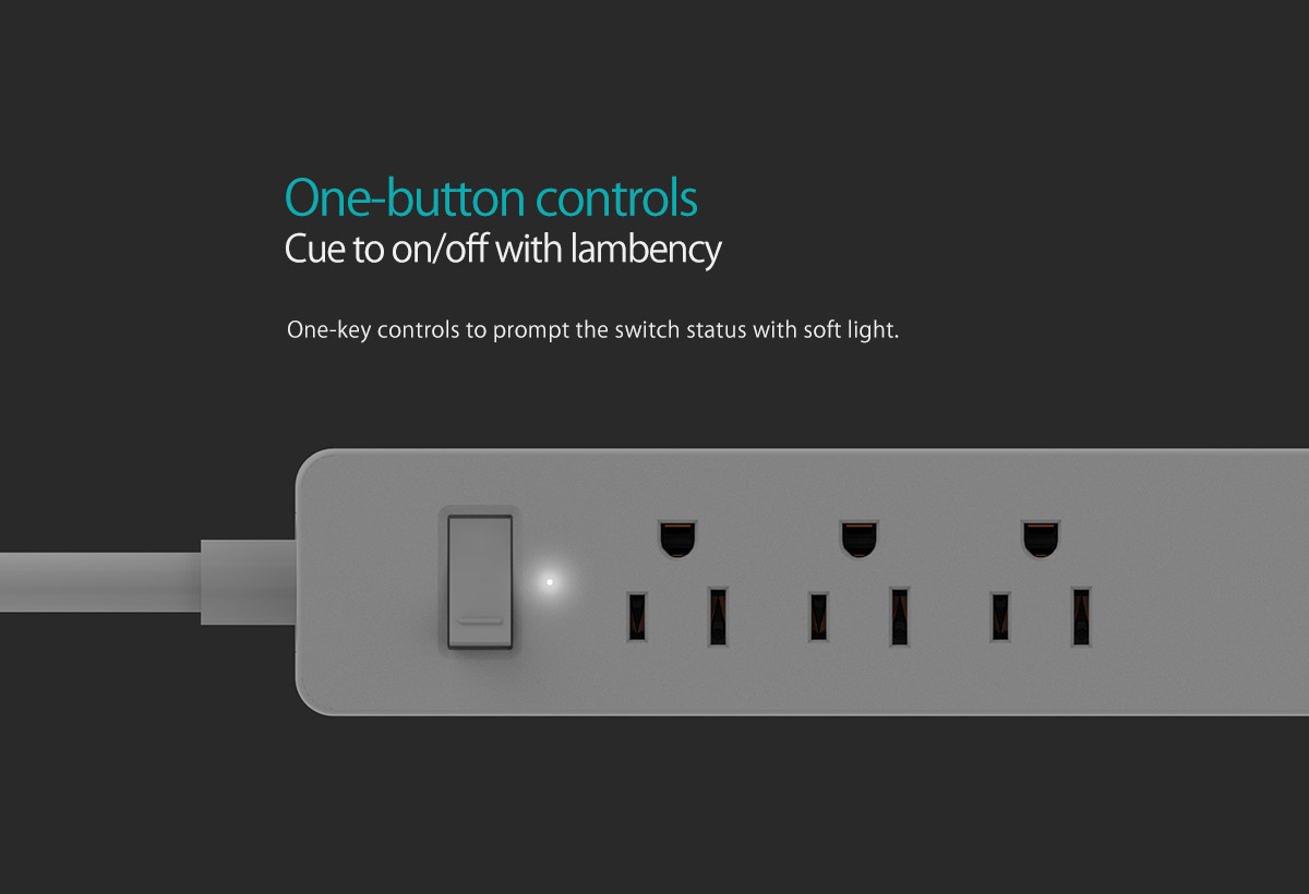 one-button control
