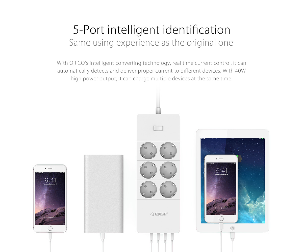 5-port intelligent identification