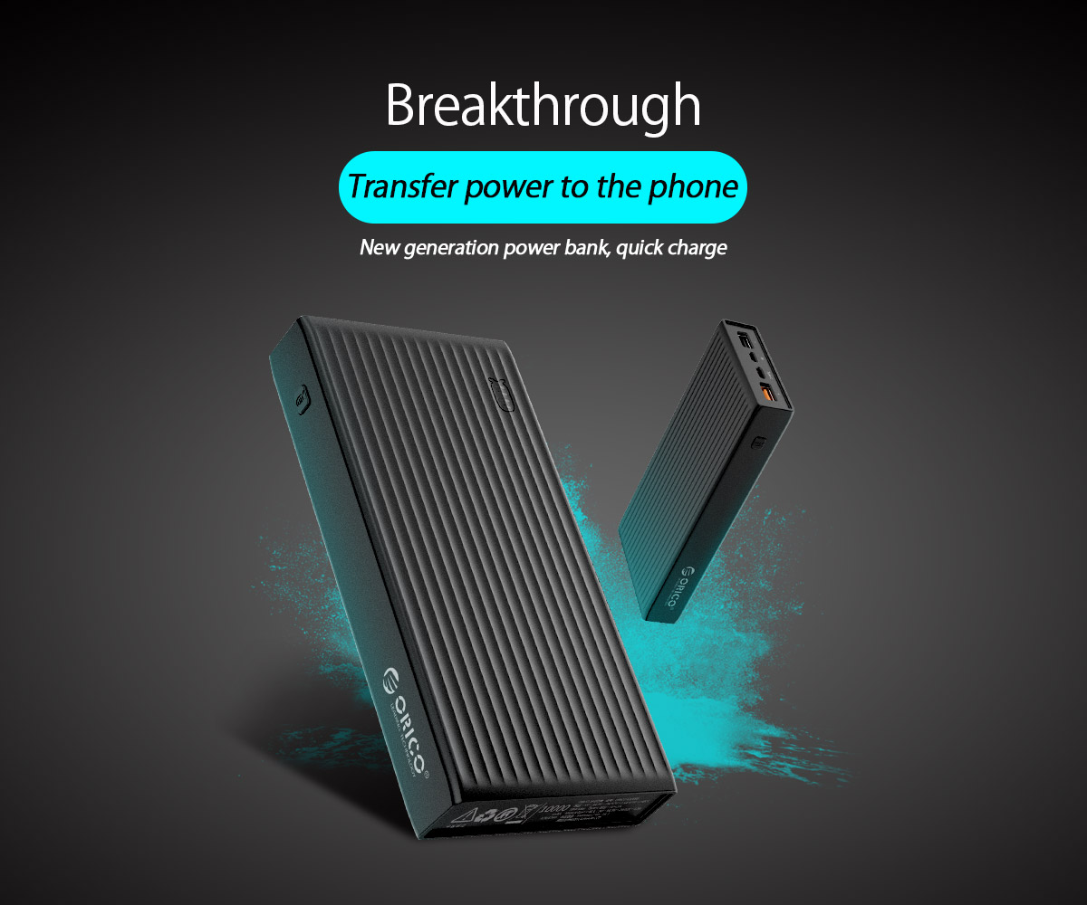 new tech quick charge power bank