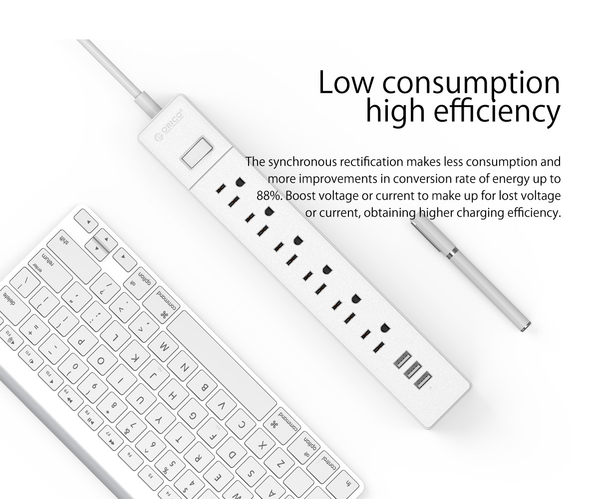 low consumption,high efficiency