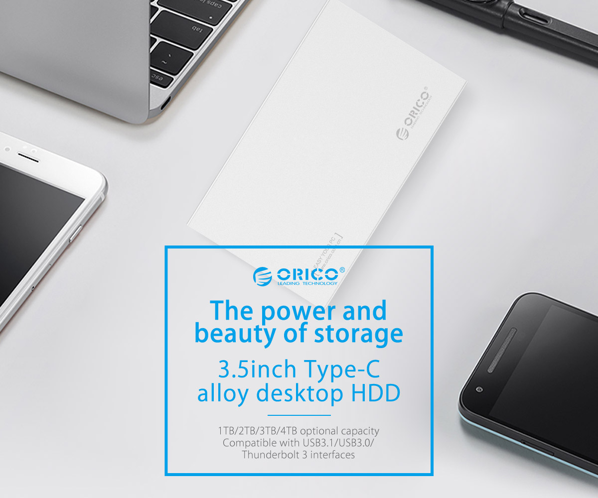orico Type-C external hard drive, your mobile data base
