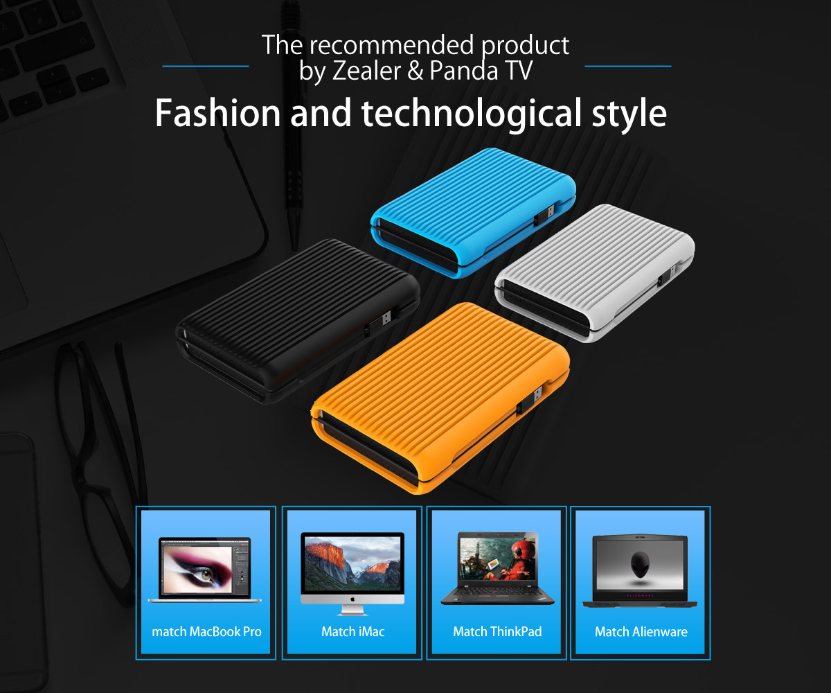 it is designed with cable storage function