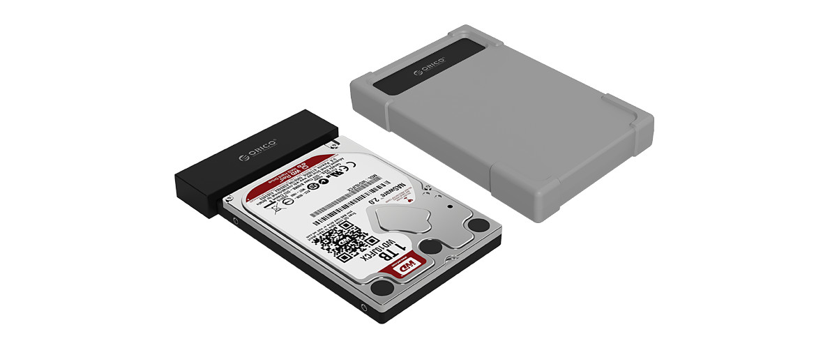 ORICO USB3.0 Hard Drive Adapter is also a hard drive enclosure
