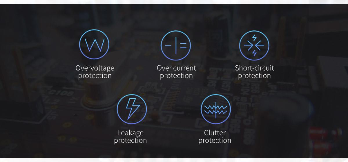 Multiple protection modules