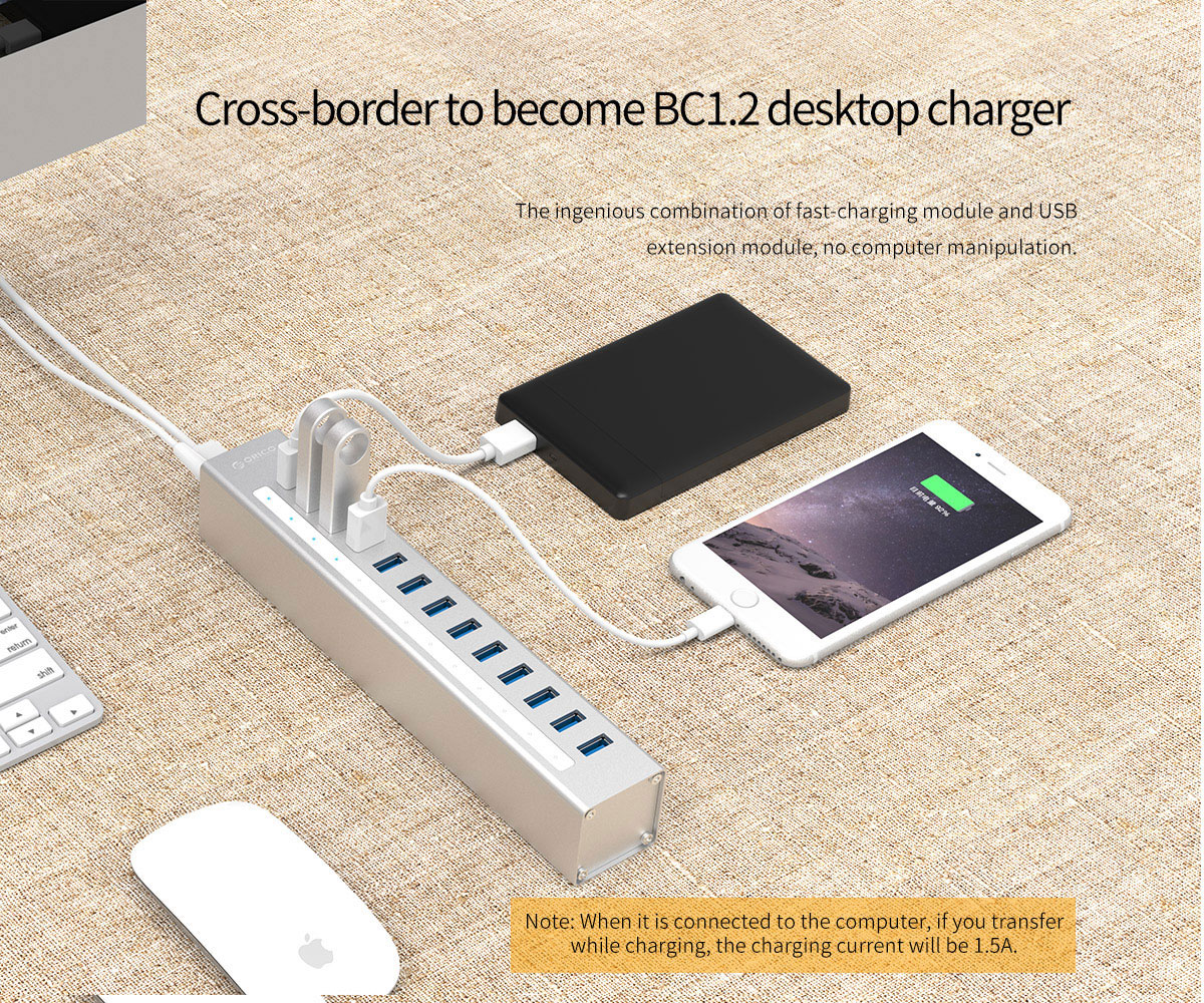 To become BC1.2 desktop charger