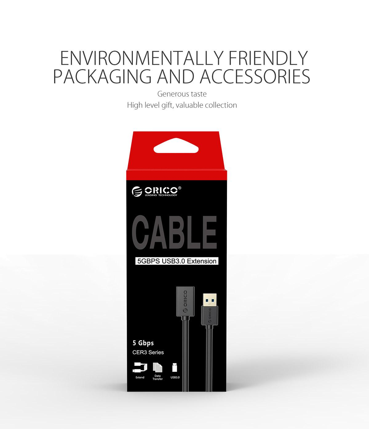 environmental friendly packaging and accessories