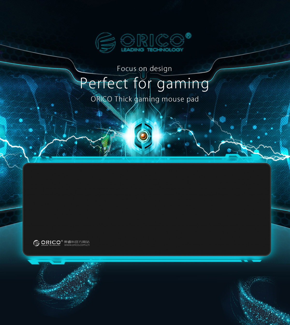 thick gaming mouse pad
