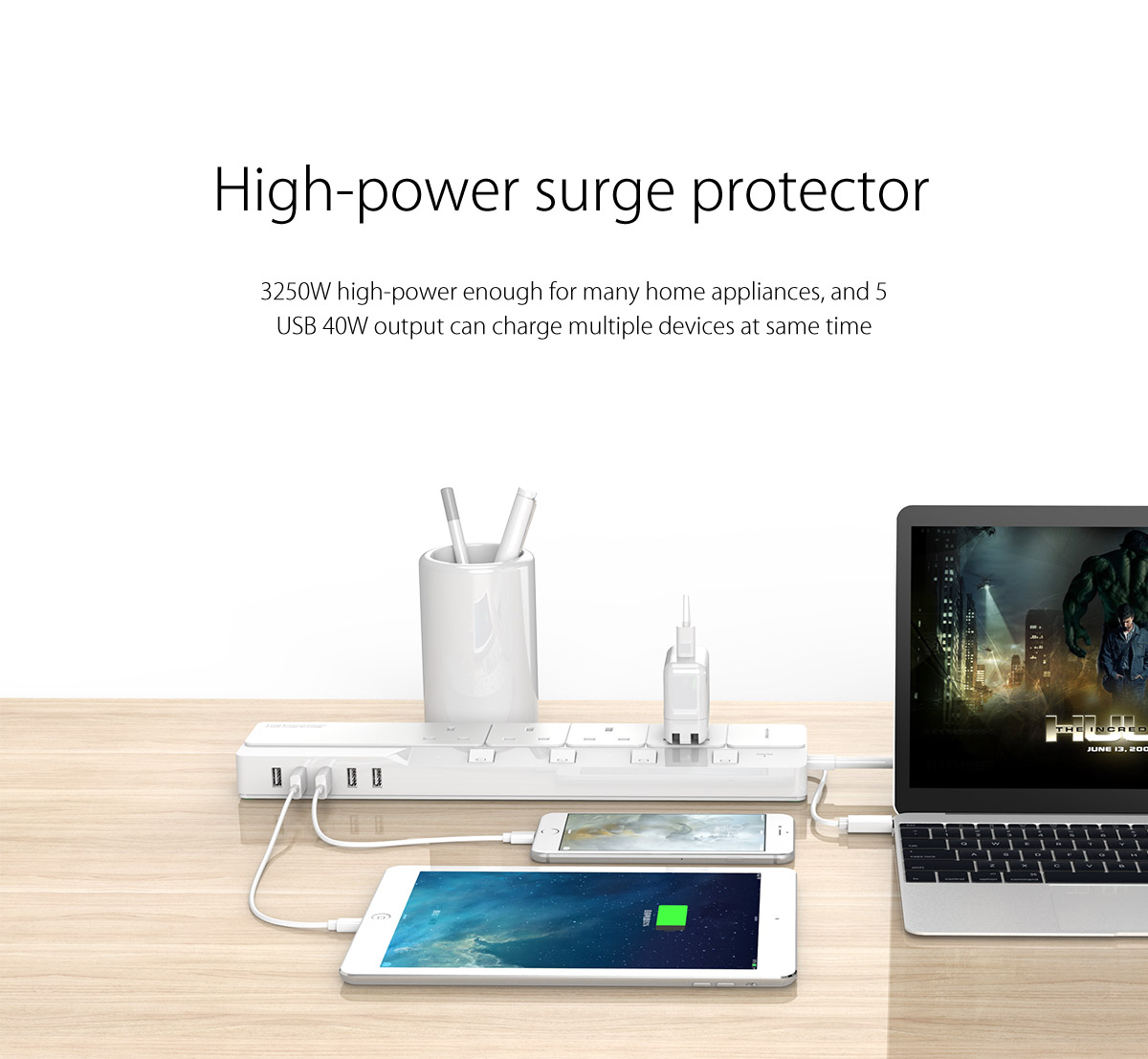 high power surge protector