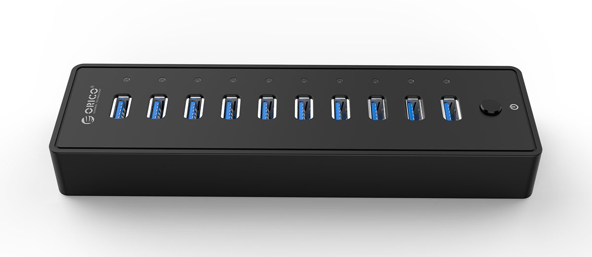 10-port USB3.0 HUB, suitable for multiple devices