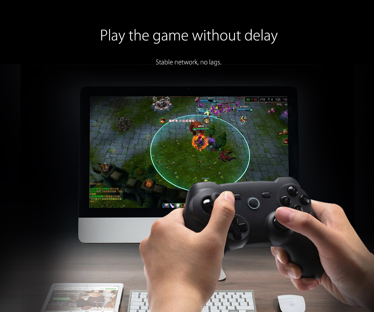 playing games without delay