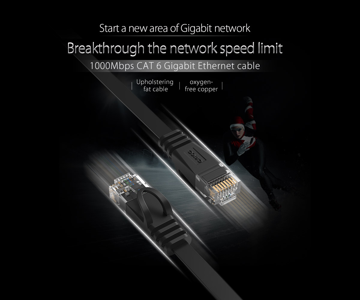 1000Mbps CAT6 ethernet cable, break the speed limit
