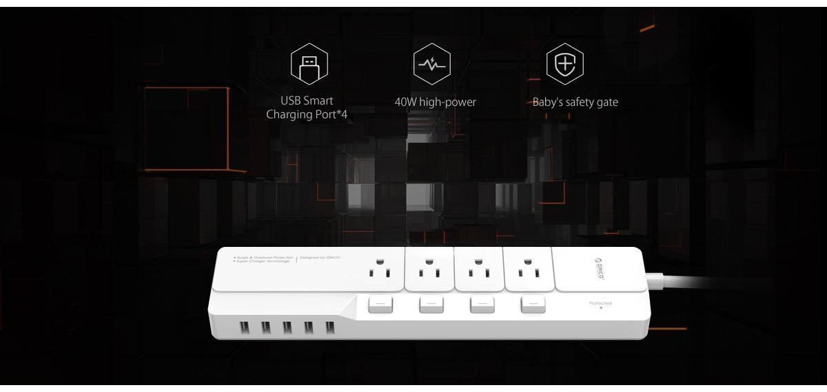 High-power surge protector