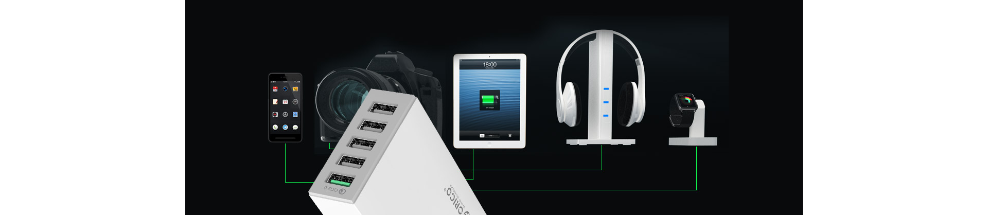 smart charger, intelligent IC, more reliable