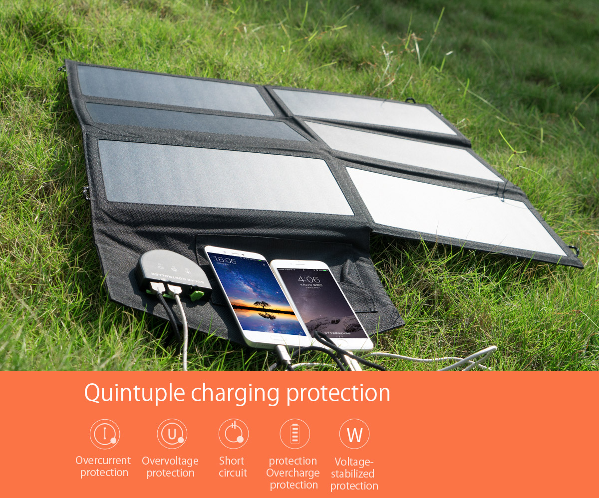 quintuple charging protection